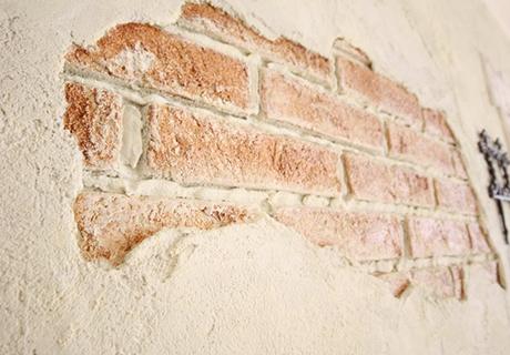 VINTAGE HOUSEの塗り壁